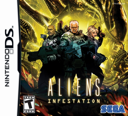 Обзор игры Aliens: Infestation [Nintendo DS]