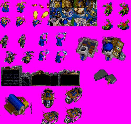 2D-спрайты из WarCraft 1-я часть