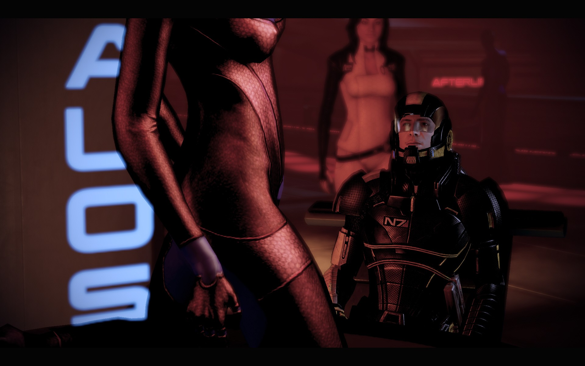 Mass effect 2 porn naked pic