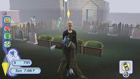 Секс на кладбище игра