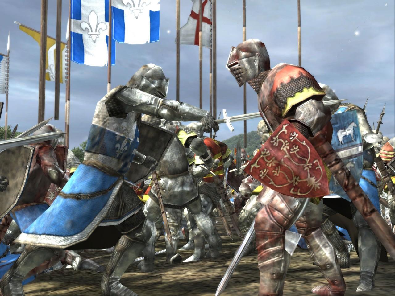 Обои «воин»), замок, доспех, мост, рацарь, осада, всадник, оружие, штурм. Разное foto 16