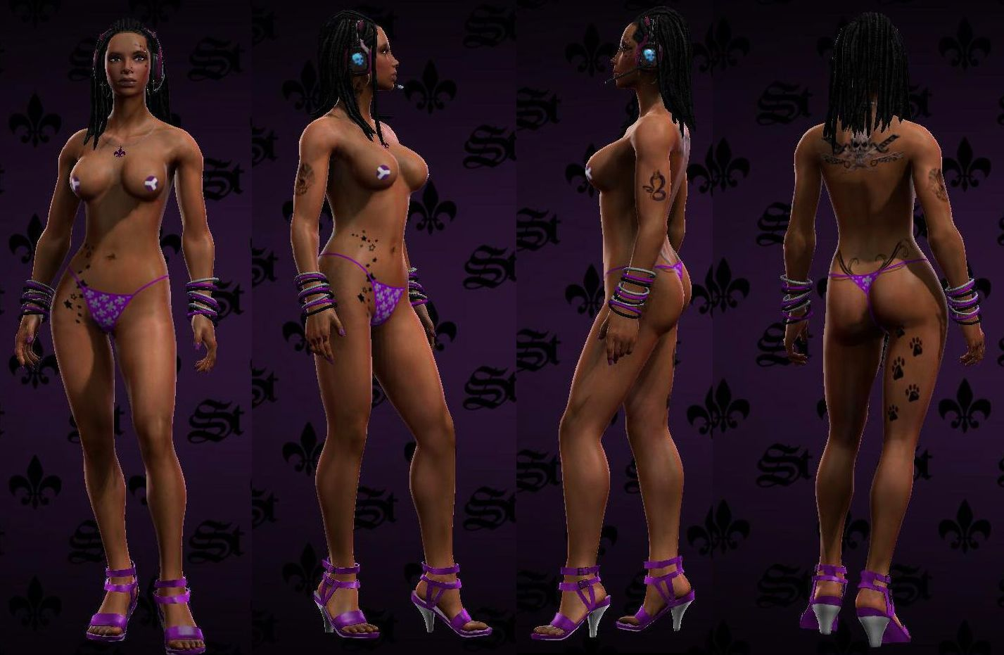 Hot naked saints row 4 porno scenes