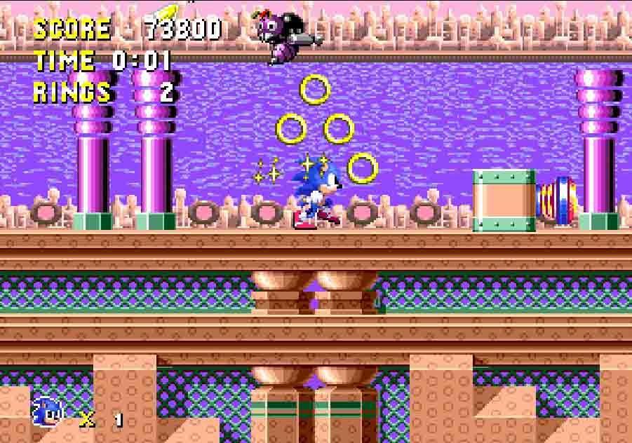 Sonic 1 Pixel Perfect (ver.64)