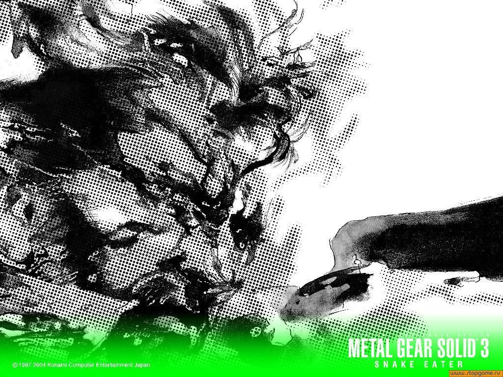 Обои по игре Metal Gear Solid