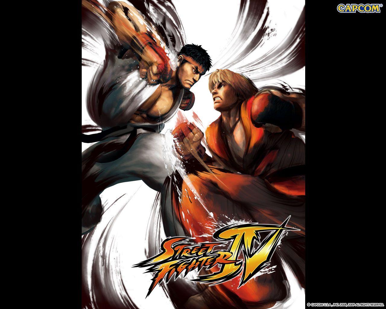 Обои по игре Street Fighter