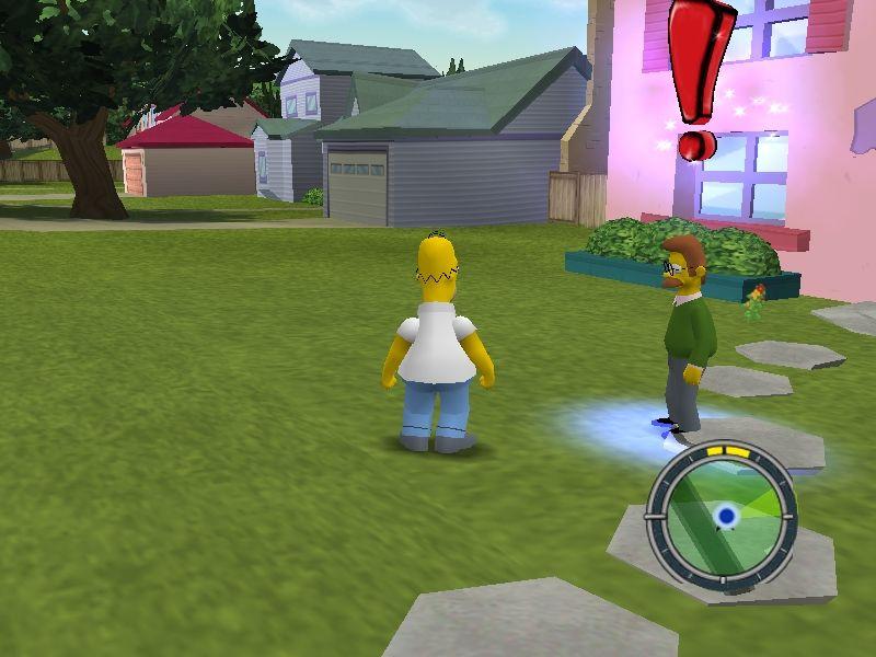 Скриншоты The Simpsons: Hit & Run