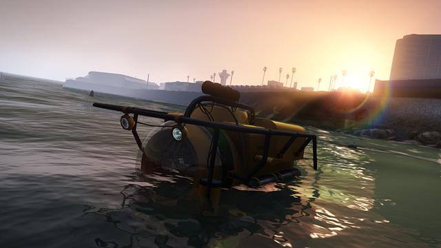 В GTA V игроки смогут исследовать морские пучины